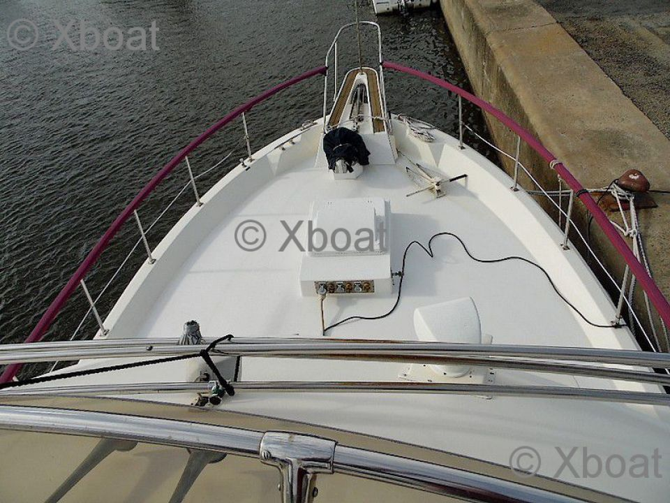Motorboat Hatteras Usa Hatteras 48 Lrc Used Motorboat